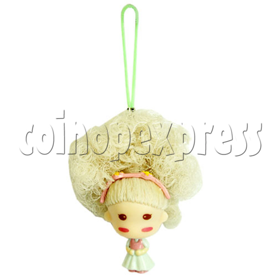Color Hair changing Cell Phone Strap 12447