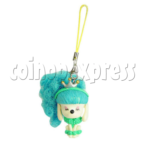 Color Hair changing Cell Phone Strap 12450