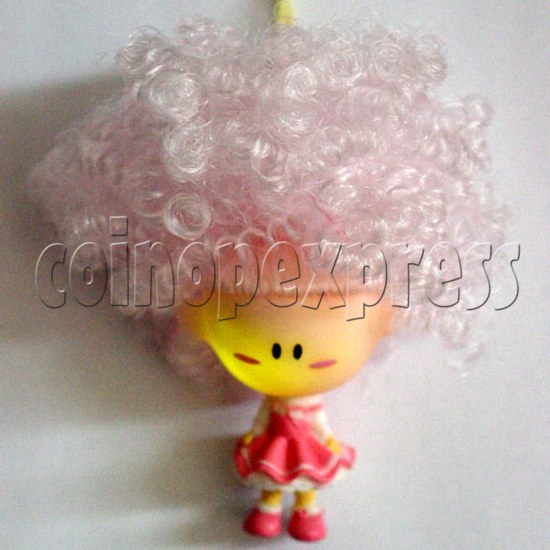 Coloring Hair & Flashing Cellular phone Strap 12472