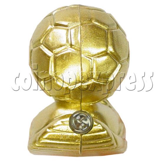 Golden Boot Light Up Key Rings 12510