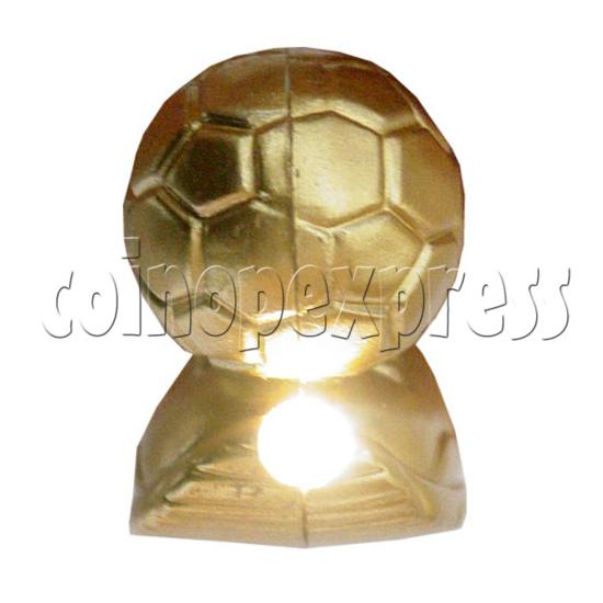 Golden Boot Light Up Key Rings 12513