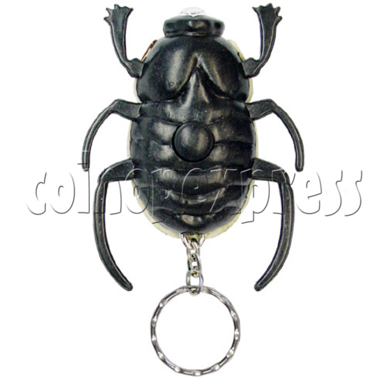 Beetle Torch Key Rings 12521