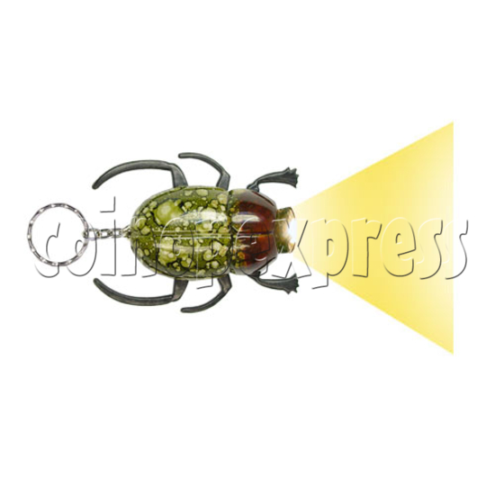 Beetle Torch Key Rings 12523