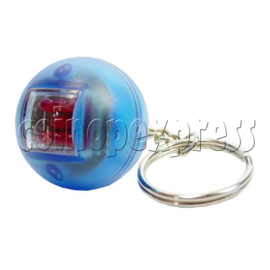Automatic Digital Dice Key Rings 12535