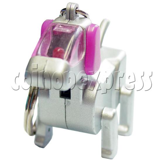 Robotic Dog Keychain 12561