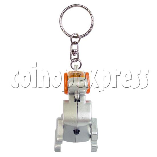 Robotic Dog Keychain 12563