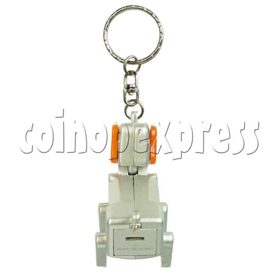 Robotic Dog Keychain 12564