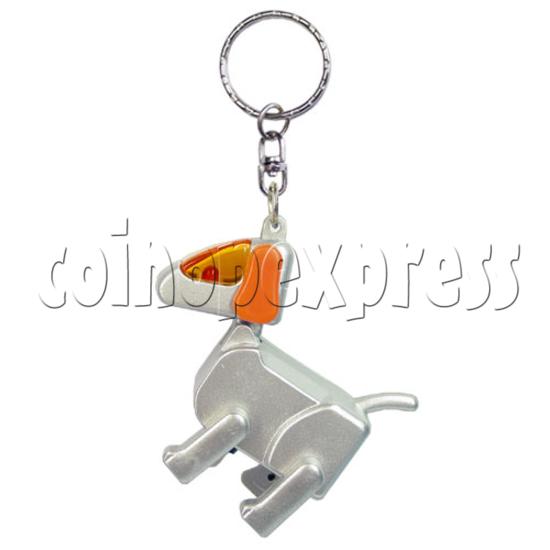 Robotic Dog Keychain 12565