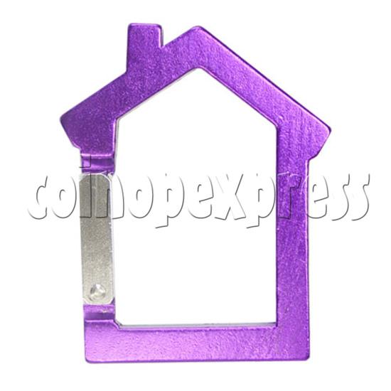 Aluminium Key Rings 12582