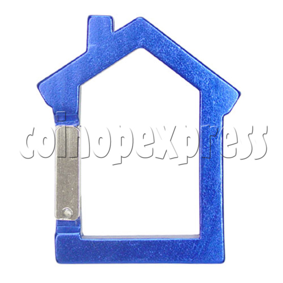 Aluminium Key Rings 12583