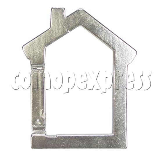 Aluminium Key Rings 12584