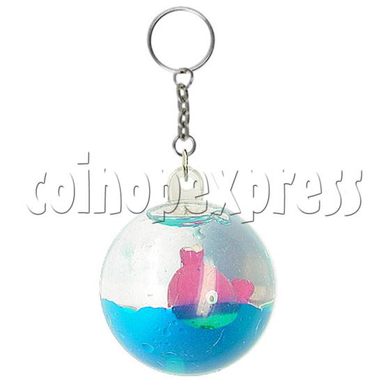 Colorful Liquid Key Rings 12598