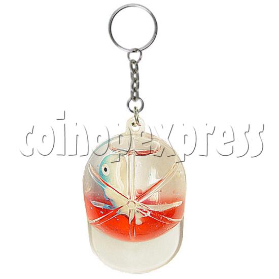 Colorful Liquid Key Rings 12601