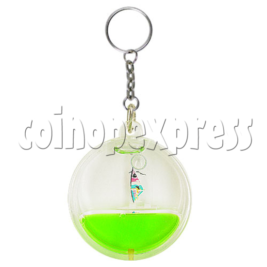 Colorful Liquid Key Rings 12603