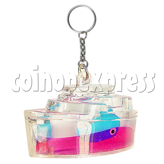Colorful Liquid Key Rings 12604