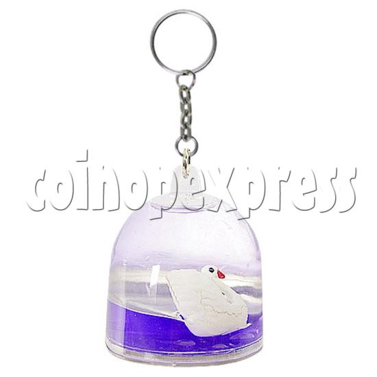 Colorful Liquid Key Rings 12605