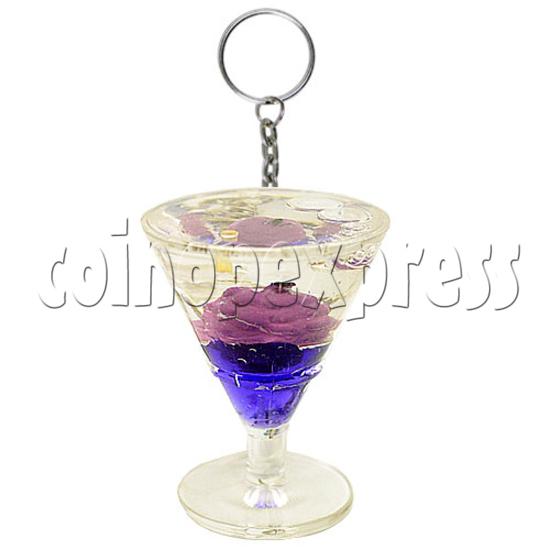 Colorful Liquid Key Rings 12606