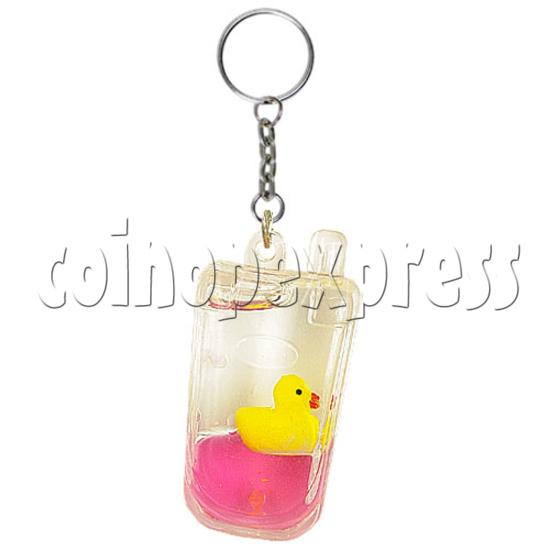 Colorful Liquid Key Rings 12607
