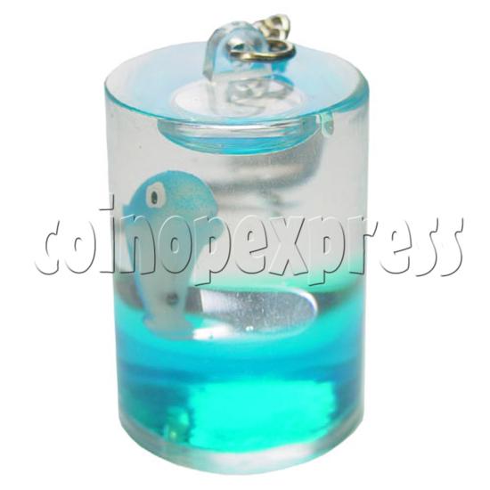 Colorful Liquid Key Rings 12608
