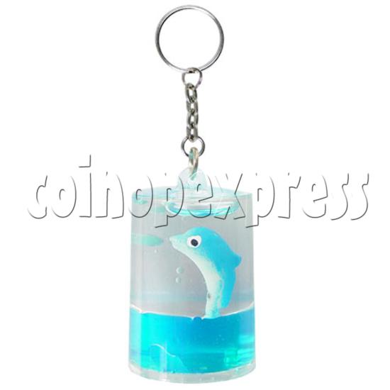 Colorful Liquid Key Rings 12609