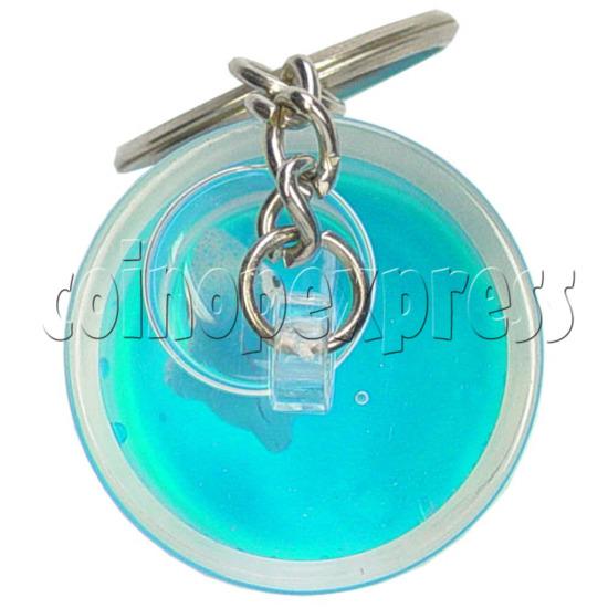 Colorful Liquid Key Rings 12610