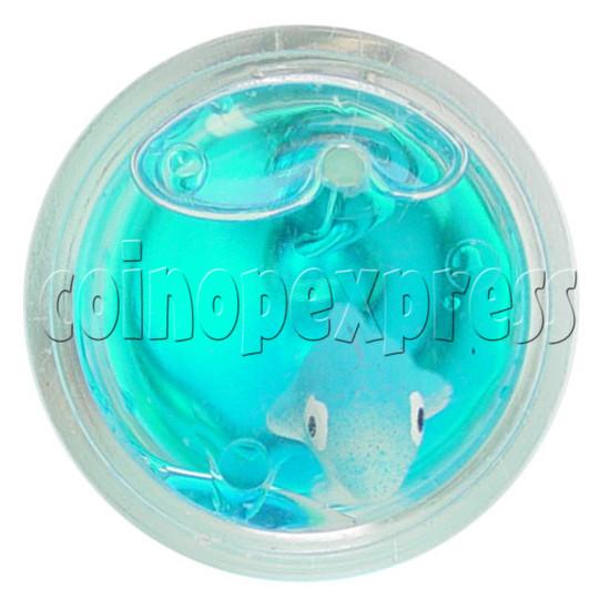 Colorful Liquid Key Rings 12611