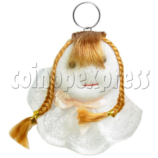 Fabric Girl Key Rings 12621