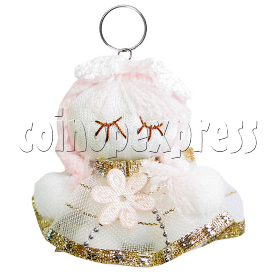 Fabric Girl Key Rings 12624