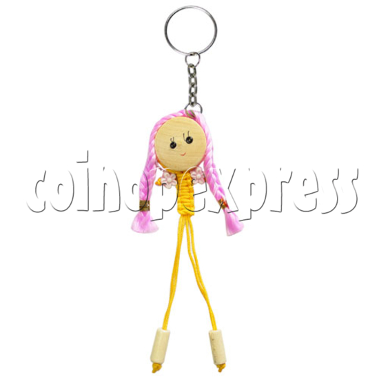 Fabric Girl Key Rings 12625