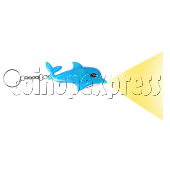 Dolphin Light-up Key Rings 12653
