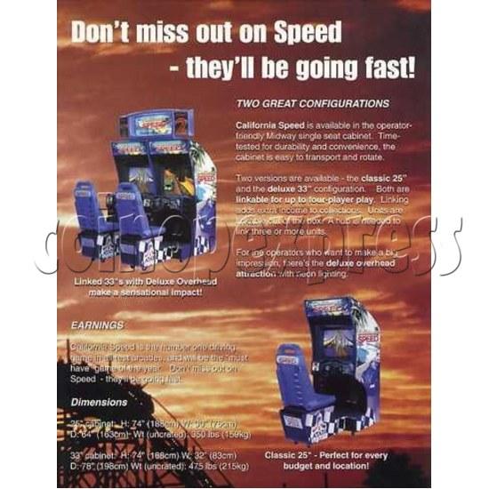 California Speed (twin) 12842