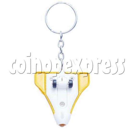 Mini Airplane Light-up Key Rings 12891