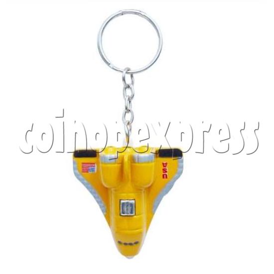 Mini Airplane Light-up Key Rings 12892
