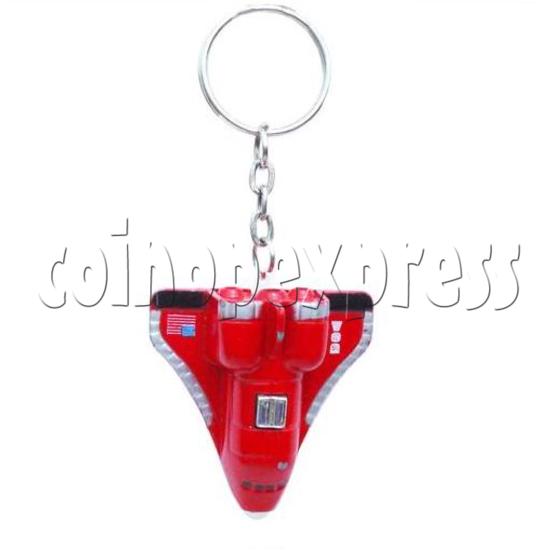 Mini Airplane Light-up Key Rings 12894