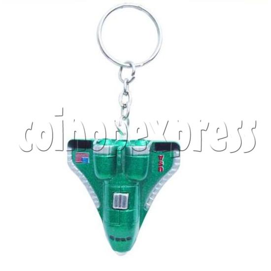 Mini Airplane Light-up Key Rings 12895