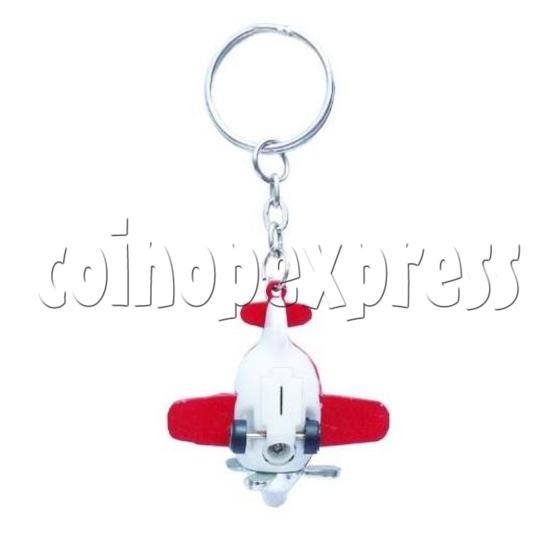Mini Airplane Light-up Key Rings 12896