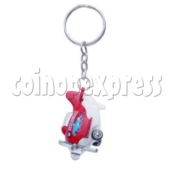 Mini Airplane Light-up Key Rings 12897