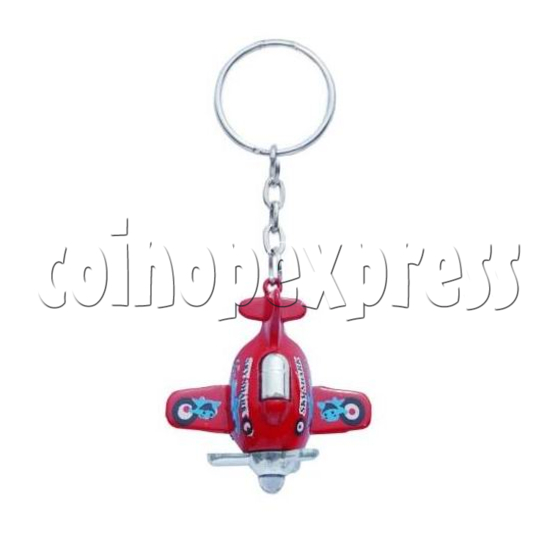 Mini Airplane Light-up Key Rings 12898