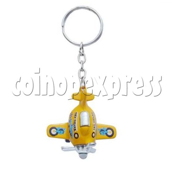 Mini Airplane Light-up Key Rings 12899