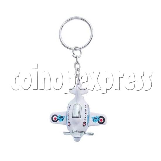 Mini Airplane Light-up Key Rings 12900