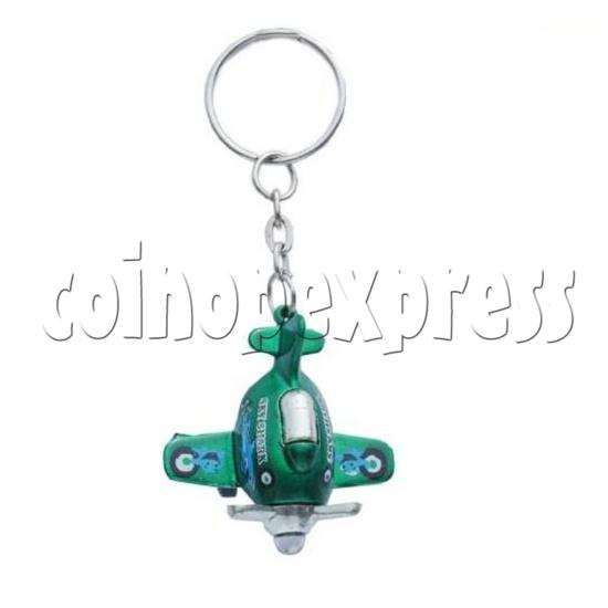 Mini Airplane Light-up Key Rings 12901