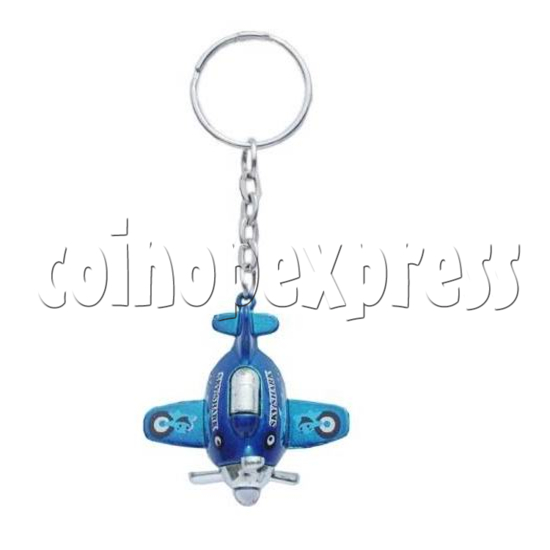 Mini Airplane Light-up Key Rings 12902