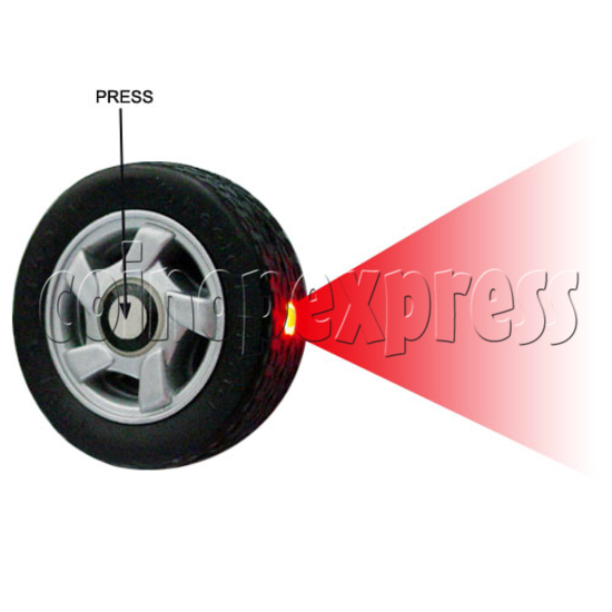 Wheel Light-up Key Rings 13300