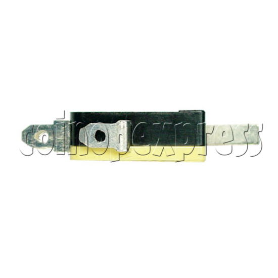 Yellow Microswitch with Auxiliary Actuator 13392