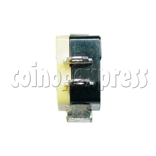 Yellow Microswitch with Auxiliary Actuator 13393