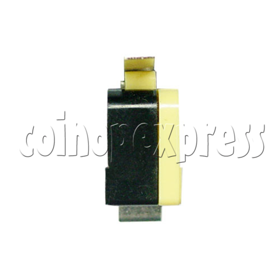 Yellow Microswitch with Auxiliary Actuator 13394