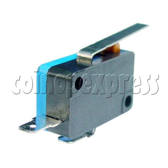Miniature Microswitch with Auxiliary Actuator 13427