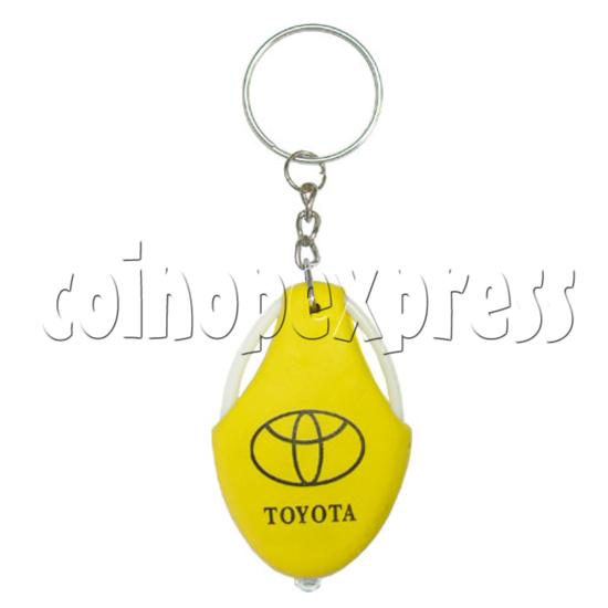 Car Wheel Light-up Key Rings 13462