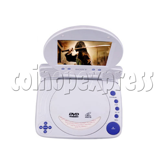 "5"" TFT Portable DVD Player 13492"