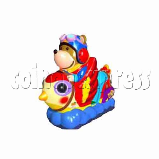 Aviation Bear Monitor Kiddie Ride 13501